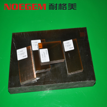Amber color PEI plastic sheet