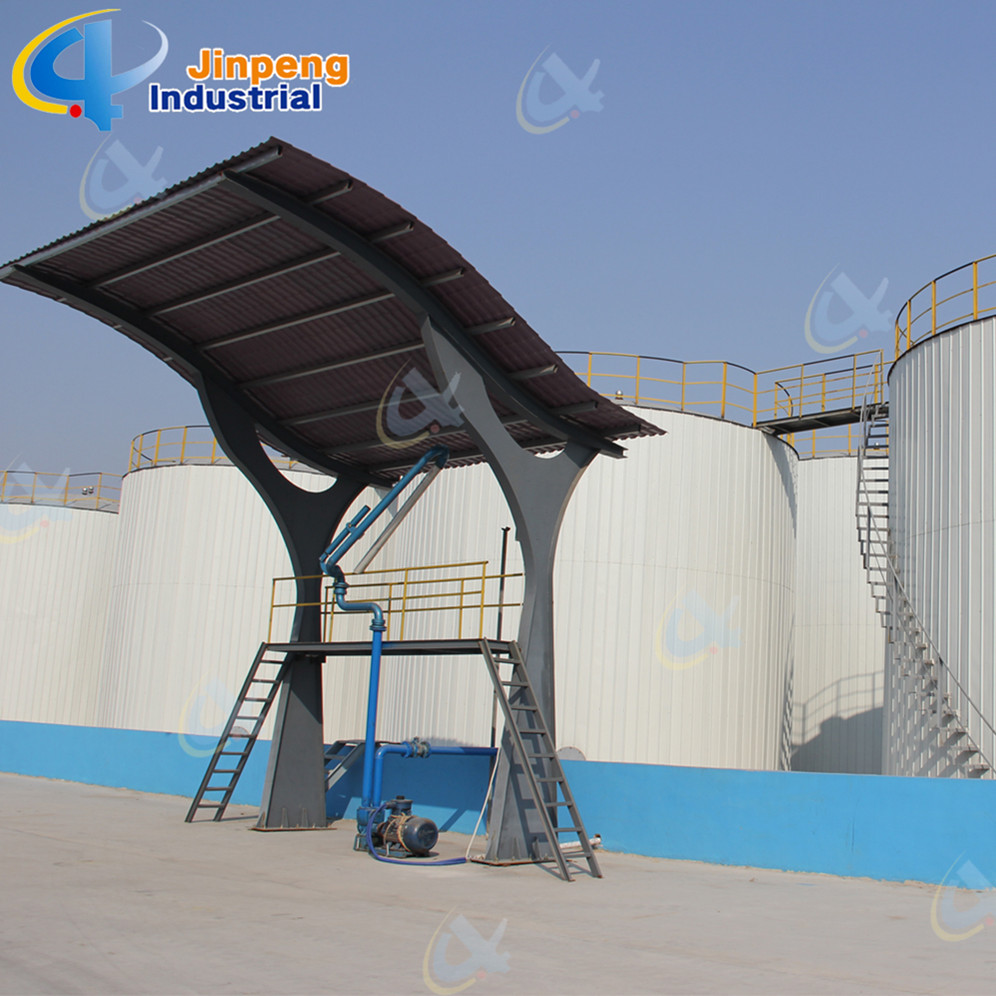 New Condition Continuous Gummi Oil Purifier Plant