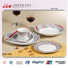 Китай завод новый дизайн керамической Dinnersets десертные тарелки для использования в отель