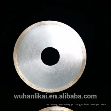 Lâmina de corte fina super 1mm do diamante das lâminas do cortador da gema do diamante de 120 milímetros