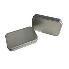 Нет Печать Прямоугольник Форма Оловянная коробка Упаковка Оптовый контейнер