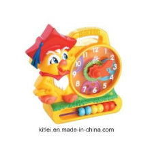 Plastic Demonstrate Clock Toys, School Supply, Learning Toys