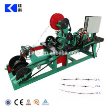High speed single stands barbed wire making machine