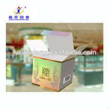 2017 Hot sale fancy origami paper cosmetic packaging boxes,paper box packaging perfume