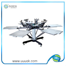 Screen printing machine for socks and gloves