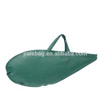 custom cheap non woven zipper ham bag, carrier bag