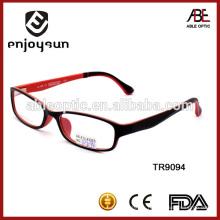 2015 lunettes optiques tr90 de mode de haute qualité