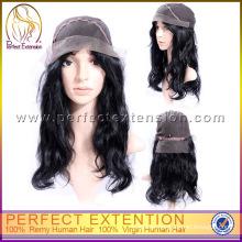 High Density Lady Gaga Bow 5a Grade Natural Color Brazilian Human Hair Wig