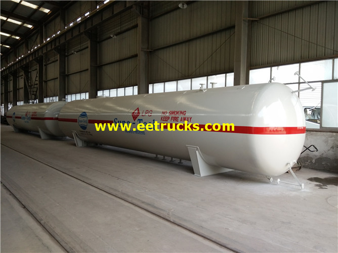 15T Horizontal Ammonia Tanks