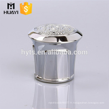 diamant de luxe en forme de zamac bouchon de bouteille de parfum