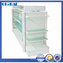 Sistema de prateleiras de armazenamento de supermercado para lojas de série / prateleira de gôndola de design europeu