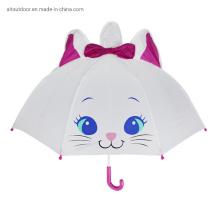 Cute Cartoon Animal Umbrella Children Creative 3D Model Ear Unicorn Kids Umbrella