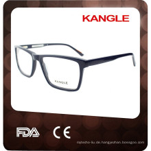 Italien stil hochwertige treffen CE FDA mit federgelenk acetat rahmen brillen