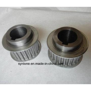 Roue de poulie en aluminium avec usinage CNC