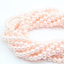 3-14mm natürliche Shell Perle Mutter Perle allmählich Halskette Runde DIY lose Edelstein Perlen