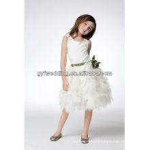 Guangzhou Elegant Small Dresses for Girls Wedding Formal Dresses Designs Flower Girl Dress of 9 Year Old Patterns
