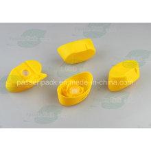 Forma Oval Capa de válvula de silicone de plástico (PPC-PSVC-010)