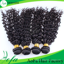 Aofa Human Hair Weft 100%Unprocessed Remy Virgin Hair Extension