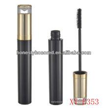 unique makeup container /shinny empty mascara tube