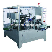 rotary type premade bag packing machine for pet food