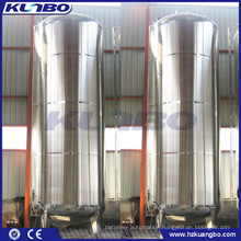 KUNBO 20m3 Stainless Steel Sanitary Water Juice Vacuum Storage Tank 20000 Liters