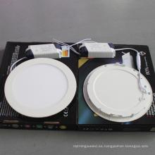 18W / 55W panel ultrafino del LED, luz de techo del LED