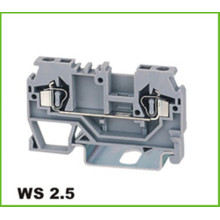 Bloque de terminales de resorte Din-Rail 2.5mm2
