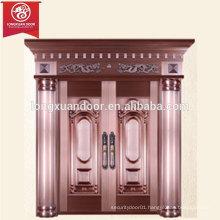 Factory Custom Main Door Bronze Door, Double-leaf Door, Commercial or Residential Door