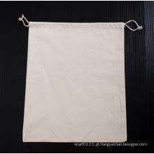 Hotel de algodão resistente que pendura saco de roupa suja de cordão de roupa íntima (yky7402)