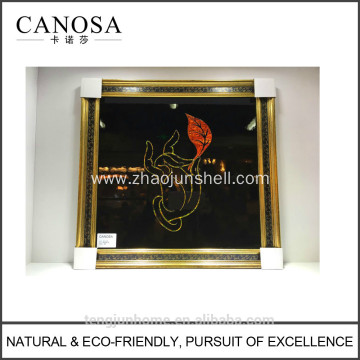 CANOSA shell Wall Picture with wood frame