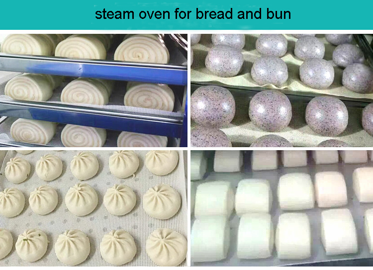 stean oven for break and bun