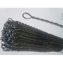 Verzinkter Single Loop Tie Wire für Bailing Wire verwendet