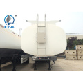 Remolque cisterna de aceite de cocina de aluminio 40000L