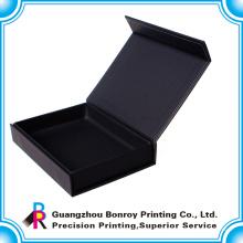 Caja de embalaje de regalo con forma de libro de Guangzhou con cierre de imanes