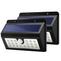 OEM Motion Sensor Solar Security Light With 3 Intelligence Mode For Outdoor Wall Garden Patio