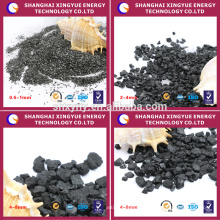 Mantacture factory supply high carbon anthracite coal filter media for the water purficition