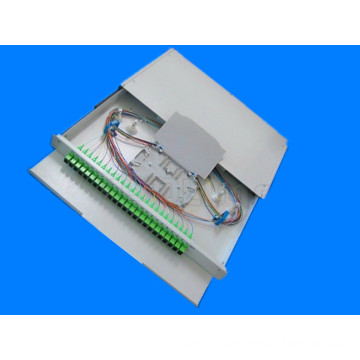 Fiber Optic Patch Panel -Sc/APC 12 F