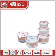 Four à micro-ondes alimentaire Container(3pcs)