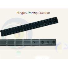 CNC-bearbeitete Präzisions-Aluminium-Picatinny-Schiene für Armbrust