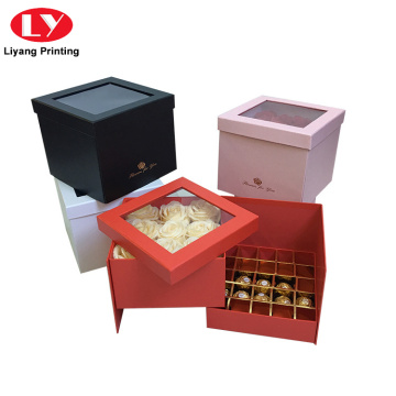 Fancy Custom Luxury Chocolate Cardboard Gift Boxing Box