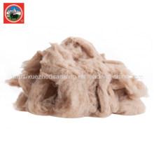 Combinaison / laine de yak cardée / tissu de laine de cachemire / camle / textile / matière première gaspillée