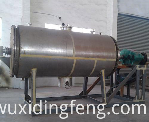 Reduce Material's Moisture rotary vacuum freeze dryer