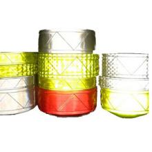 Оптовая безопасности Светоотражающая лента с EN ISO 20471 многие цвета может быть выбор
