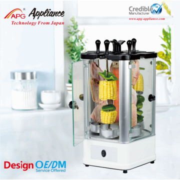 APG Electric bbq Grill Mini Kebab Machine