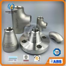 Нержавеющая сталь, Арматура стальная Con. редуктор с TUV Wp316 / 316L патрубок (KT0134)