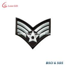 Medida militar / ejército bordado parche bordado Pin de solapa