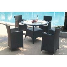Modern Style Outdoor PE Rattan Furniture Set