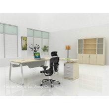 Table de gestionnaire de bureau MDF moderne de style nouveau (HF-MG011)
