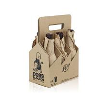 Weinverpackung / Lederweinbox Bier Geschenkbox