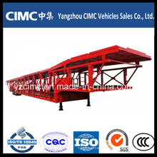 Cimc 3 Axle Car Transport Semi Truck Trailer Semi Trailer